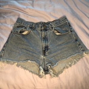 Calvin Klein Denim Cutoff Shorts (Women's)